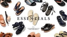 "ESSENTIALS Vol.2 ""SANDALS"" | feature | HOUYHNHNM(フイナム)"