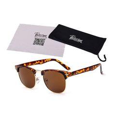 0527d38e62593 2017 New Fashion Retro Designer Women Round Circle Glasses Cat Eye  Semi-Rimless Vintage Sunglasses Goggles Oculos de sol
