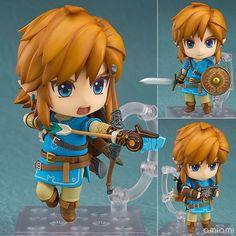 Nendoroid Die Legende von Zelda 733-DX Link Die wilde Deluxe PVC-Figur