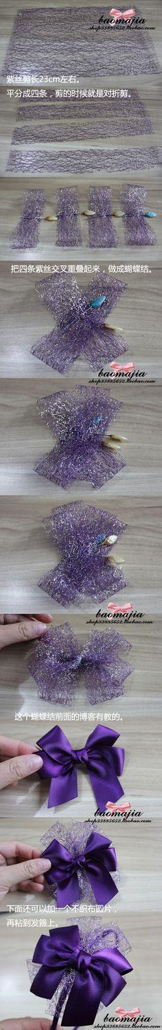 喜气的紫色发箍,新年快乐,恭喜发财!