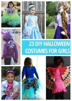 23 DIY Halloween Costumes For Girls