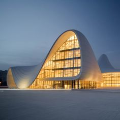 Heydar Aliyev Centre by Zaha Hadid Architects in Azerbaijan