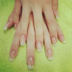 Had Gel nail extensions by Beth first attempt