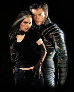 Logan (Wolverine) & Marie (Rogue); Rogan; X-Men.