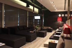 The beautiful Filoxenia Lounge at Greece Heraklion - Kazantzakis International