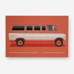 The Van Print - from