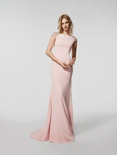 Photo pale pink cocktail dress (62014)