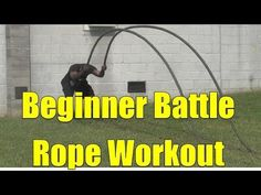 Beginner Battle Rope Workout - YouTube