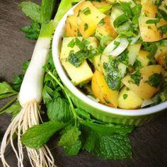 Syrian Potato Salad - The Lemon Bowl