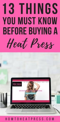 13 Things You Must Know Before Buying A Heat Press