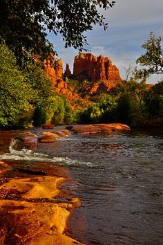 Cathedral Rock, Red Rock State Park, Sedona, Arizona; photo by Julie Pace and David Selden