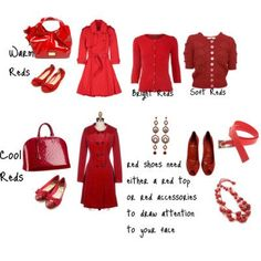 With Valentine's Day approaching I thought I'd dedicate a thought or two to the colour red, and how best to choose the right red...