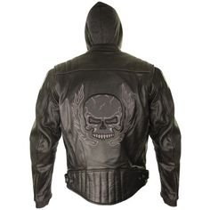 Xelement Mens Armored Leather Motorcycle Jacket with Skull Embroidery and Hoodi - X-Large Xelement http://www.amazon.com/dp/B00ODSN40S/ref=cm_sw_r_pi_dp_SpCUub1V5F46F