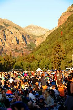 Telluride Bluegrass Festival 2012.