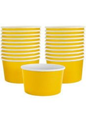 Serve up something sweet in Sunshine Yellow Treat Cups! These yellow paper cups are great for your yellow candy buffet. Guests can fill each fun-size yellow cup with bite-size treats. 65th Birthday, 3rd Birthday Parties, Birthday Ideas, Yellow Candy, Yellow Paper, Yellow Cups, Ice Cream Party, Get The Party Started, Party Stores