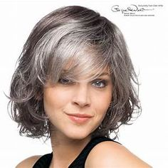 Gray Hair Styles Glamorous 21 Impressive Gray Hairstyles For Women  Pinterest  Grey Hairstyle