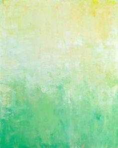 "Saatchi Art Artist Don Bishop; Painting, ""Emerald Sun"" #art"