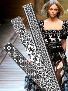 Rønnaug: Kult å lage en overdel til en kjole.     interesting application on the dress