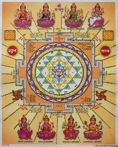 Shri Shree Sri Laxmi Yantra
