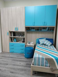 Camerette Small Room Design Bedroom, Modern Kids Bedroom, Study Room Design, Bedroom Cupboard Designs, Wardrobe Design Bedroom, Kids Bedroom Designs, Kids Bedroom Furniture, Home Room Design, Bedroom Built Ins