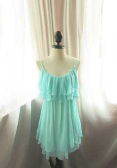 So pretty! Gorgeous color. Very romantic top or possibly even a dress