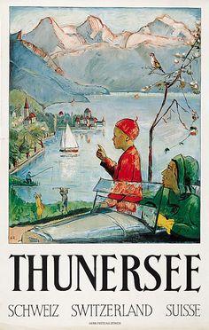 SWITZERLAND THUNERSEE Lac de Thune