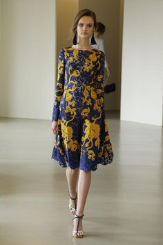 Beautiful,  beautiful dresses and gowns from Oscar de la Renta resort 2016