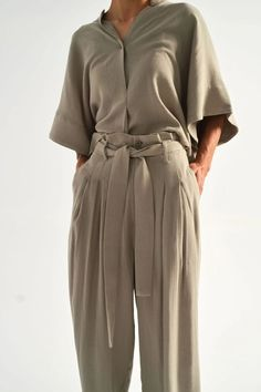 Pleated Trouser – Idun