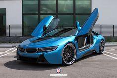 BMW I8 on HRE RS103 Wheels