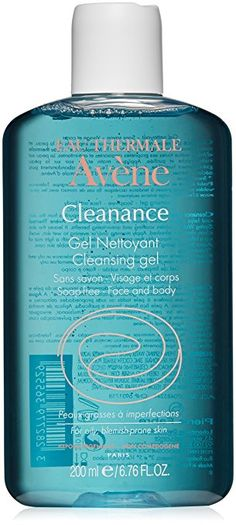 Eau Thermale Avène Cleanance Cleansing Gel for Face and Body, 6.76 fl. oz.