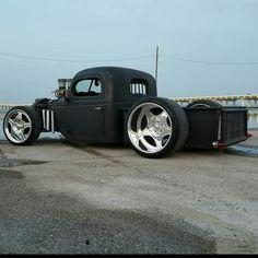 New custom cars rat rods pickup trucks ideas Hot Rod Trucks, New Trucks, Custom Trucks, Cool Trucks, Chevy Trucks, Pickup Trucks, Chevy Pickups, Custom Rat Rods, Rat Rod Pickup