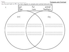 Easy compare and contrast activity
