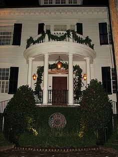 Christmas in Charleston. Picture perfect historic southern beauty.