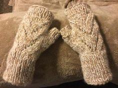 Fingerless Gloves in Baby Alpaca