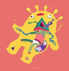 Hexobranchia - Creature for David Kamp´s Sound Creature Archive by Rey Misterio (Juan Molinet), via Flickr