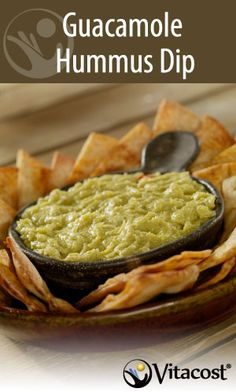 4 Great Low-Cholesterol Party Dips under 60 Calories Guacamole Houmous, 200 Calorie Meals, Good Food, Yummy Food, Tasty, Low Cholesterol, Appetizer Recipes, Appetizers, Dip Recipes
