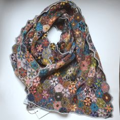 Sophie Digard Scarf Maybe I need to learn to crochet. Love this.