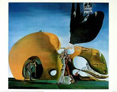 Salvador Dalí - Geburt der Wuensche