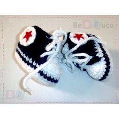 Zapatos bebe Mini converses baby tejidos a crochet $95.00 (Noventa y cinco pesos mexicanos 00/100 M.N.) Tallas 0-3 meses, 3-6 meses, 6-9 meses y 9-12 meses. Diseños modernos para que tu bebé luzca siempre lindo.