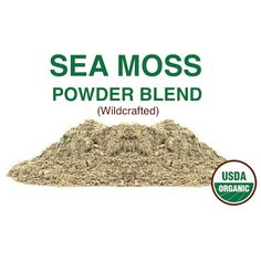 Sea Moss powder blend – What Is Sea Moss? Sea Moss Benefits and Side Effects Smoothie Ingredients, Smoothie Recipes, Seamoss Benefits, Vegan Indian Recipes, Vegan Recipes, Sea Vegetables, Irish Moss, Irish Sea, Sea Moss