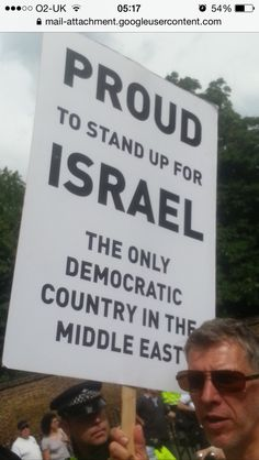 #london #democracy #israel #proud #love