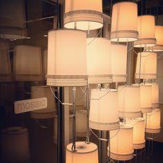 Repurposed bucket lamps
