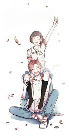 Thích cặp này nhất....mà kết buồn quá T^T Fan Anime, Anime Guys, Anime Art, Best Anime Couples, Anime Love Couple, Valentines Anime, Anime Love Story, Tsubaki Chou Lonely Planet, Cute Anime Pics