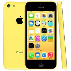 [$223.00] Refurbished Original Unlock Apple iPhone 5C / A1532 Yellow, 32GB(Yellow)