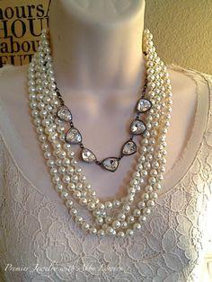 Opening night triple and piece from Montana Necklaces. So versatile! Jewelry Show, Geek Jewelry, Jewelry Necklaces, Fashion Jewelry, Bullet Jewelry, Gothic Jewelry, Statement Necklaces, Premier Jewelry, Premier Designs Jewelry