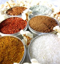 gourmet spice kit for popcorn  delicious sea salt by purposedesign, $12.00