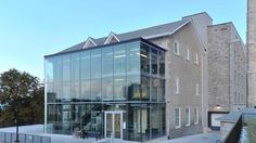 The $12.7-million repurposing project, designed by +VG Architects of Brantford, Ont., required two additions: a glass entrance on the north side and an elevator bank/loading area on the west side. (+VG Architects)