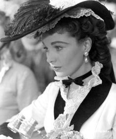 Vivien Leigh as our very own Katie Scarlett O' Hara