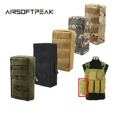 Search For Flights Airsoftpeak 600d Tactical Sports Molle 5.5 Inche Waist Bags Outdoor Hunting Hiking Edc Utility Cellphone Bag Accessory Pouch~ Ic/id Card Security & Protection