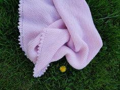 Ravelry: gnomie71's Picot-edge Baby Blanket Baby Shawl, Ravelry, Blanket, Blankets, Cover, Comforters